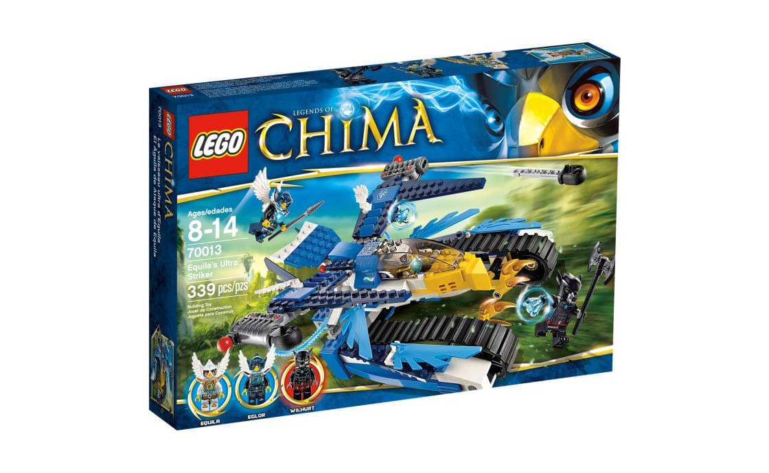 LEGO Legends Of Chima Орел-боец Экила (70013)