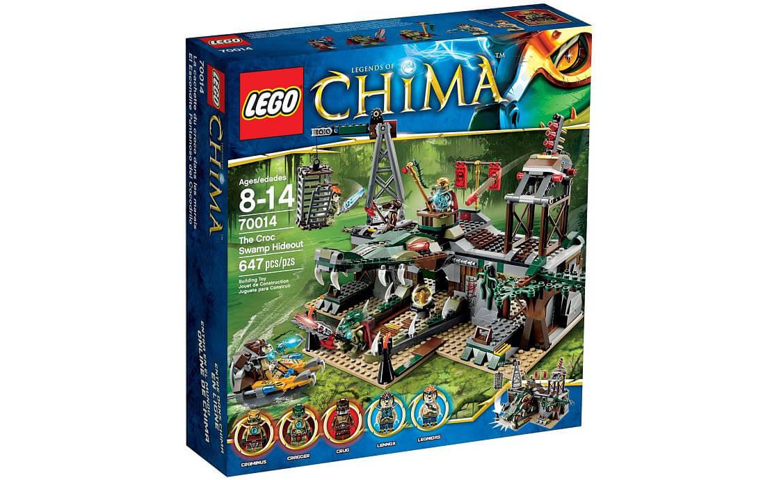 LEGO Legends Of Chima Болотное укрытие крокодилов (70014)