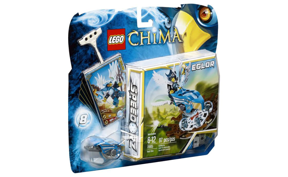 LEGO Legends Of Chima Затяжной прыжок (70105)