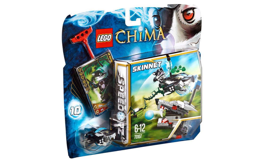 LEGO Legends Of Chima Разгромная атака (70107)