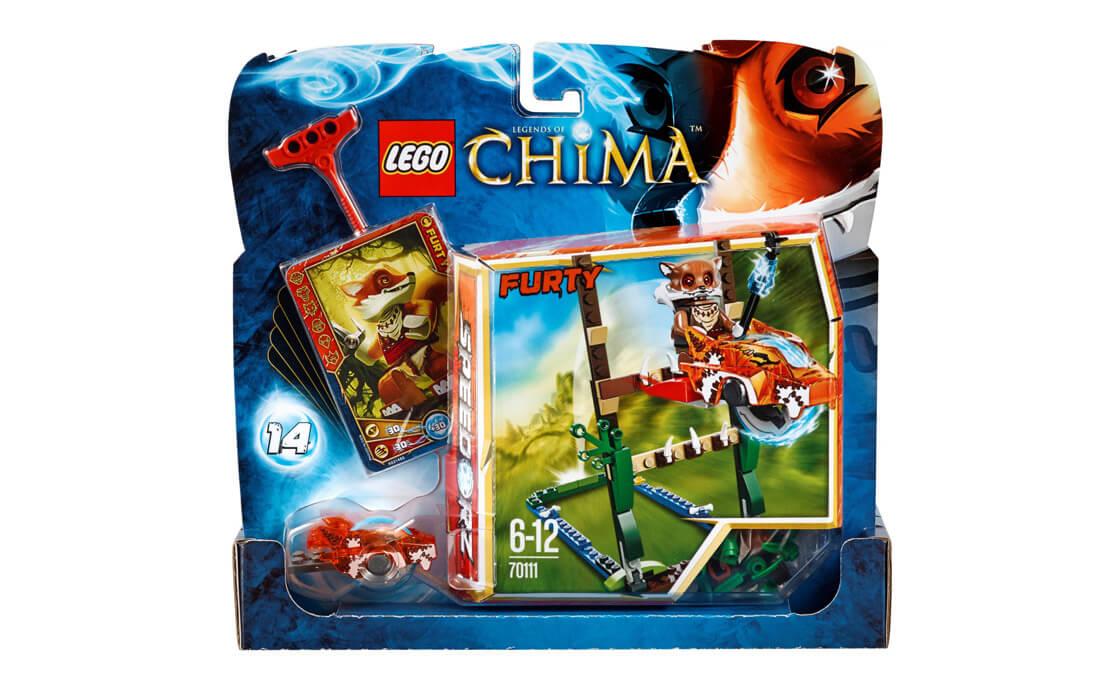 LEGO Legends Of Chima Прыжки по болотам. (70111)