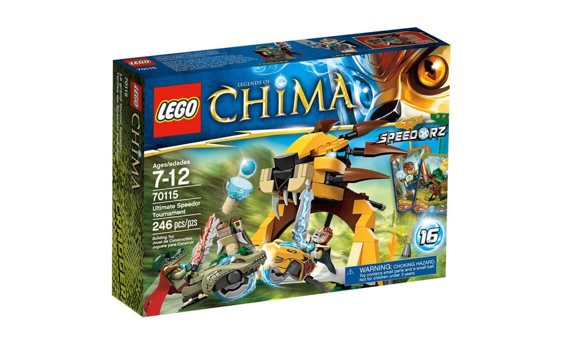 LEGO Legends Of Chima Финальный поединок (70115)
