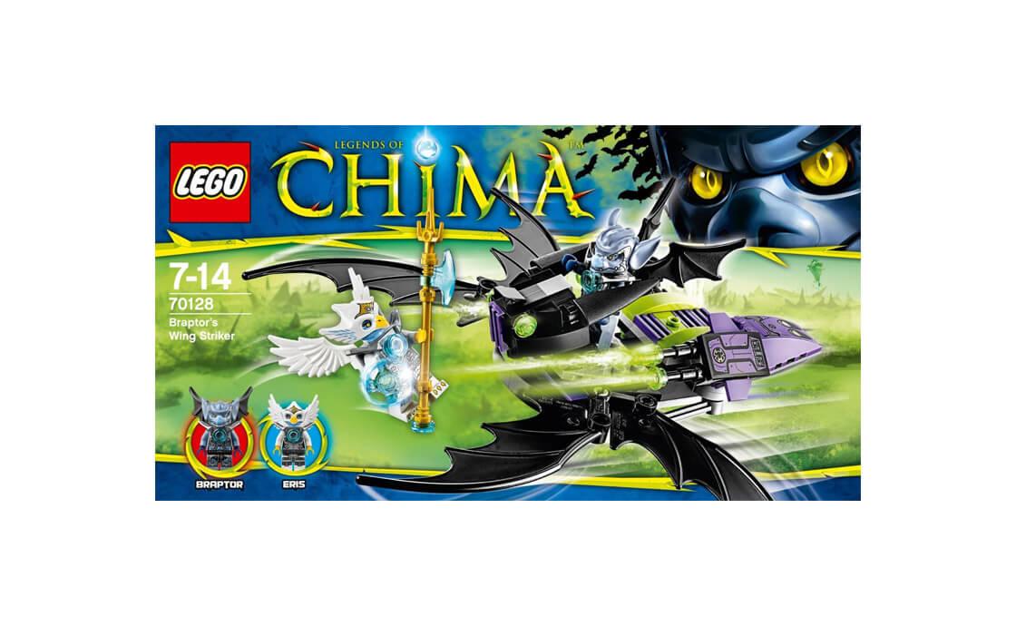 LEGO Legends Of Chima Крылатый истребитель Браптора (70128)