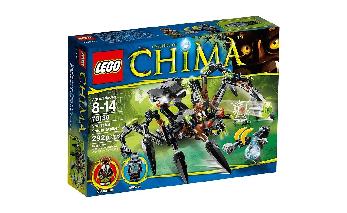 LEGO Legends Of Chima Паучий охотник Спарратуса (70130)