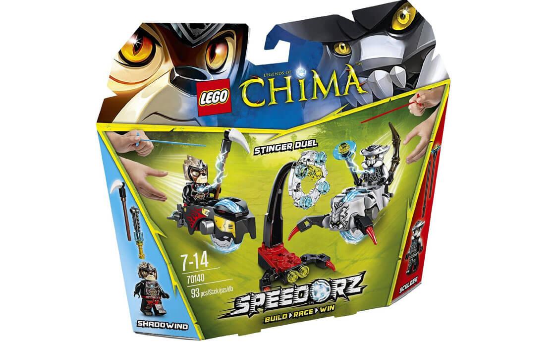 LEGO Legends Of Chima Поединок на стингерах (70140)