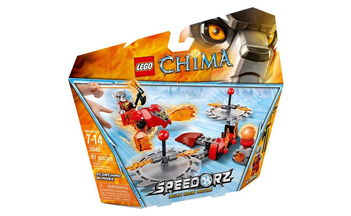 LEGO Legends Of Chima Раскаленные Лезвия (70149)