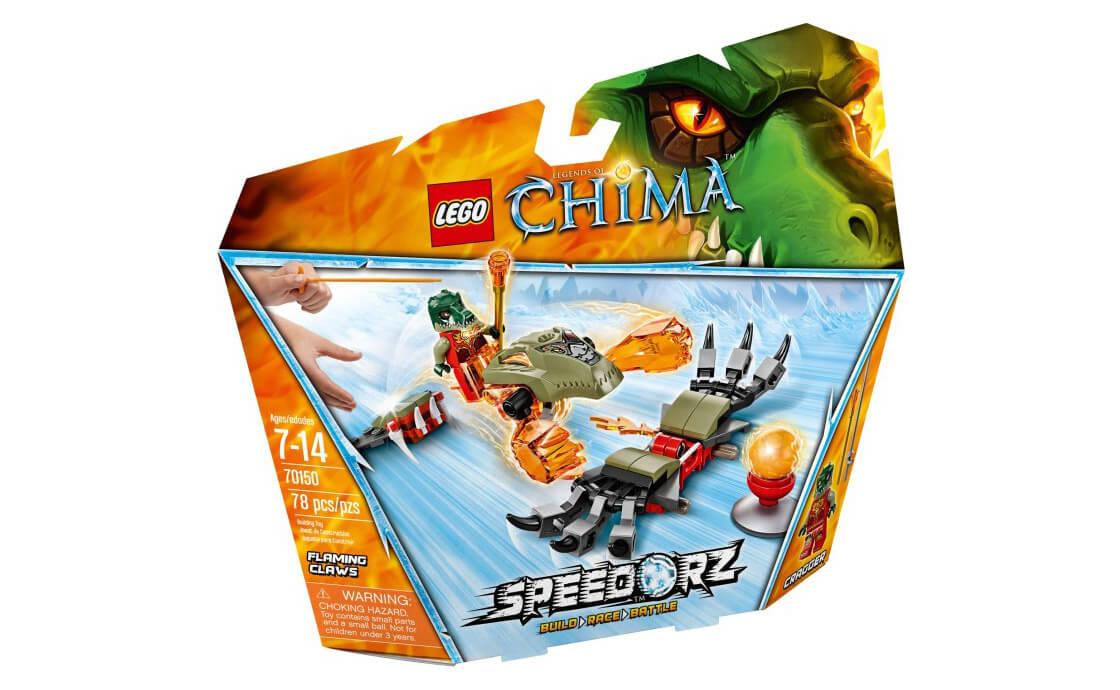 LEGO Legends Of Chima Горячие когти (70150)
