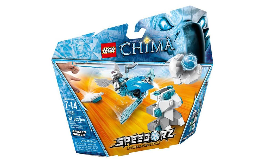LEGO Legends Of Chima Замороженные шипы (70151)