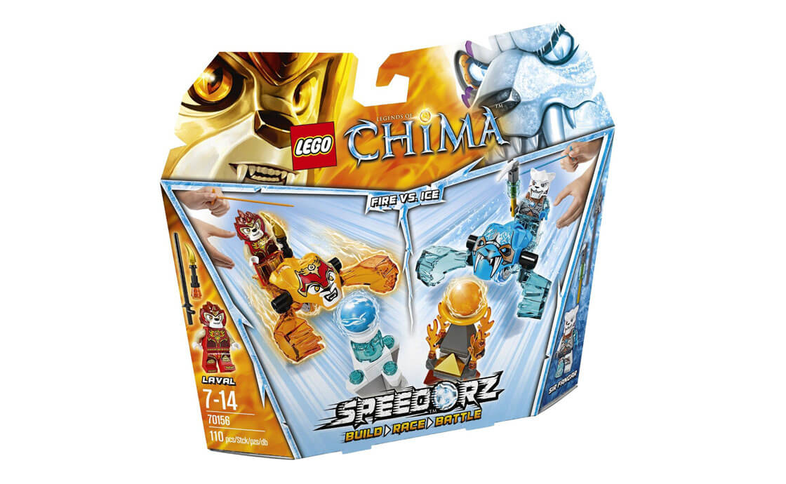 LEGO Legends Of Chima Огонь против Льда (70156)
