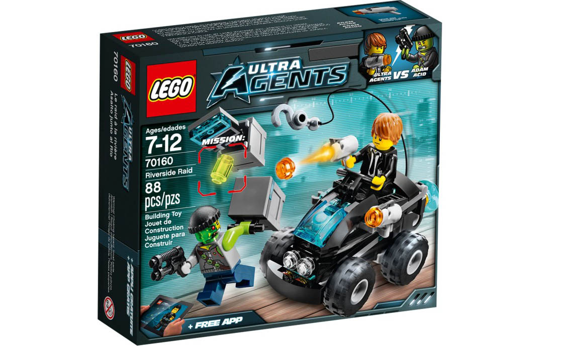 LEGO Ultra Agents Прибрежное нападение (70160)