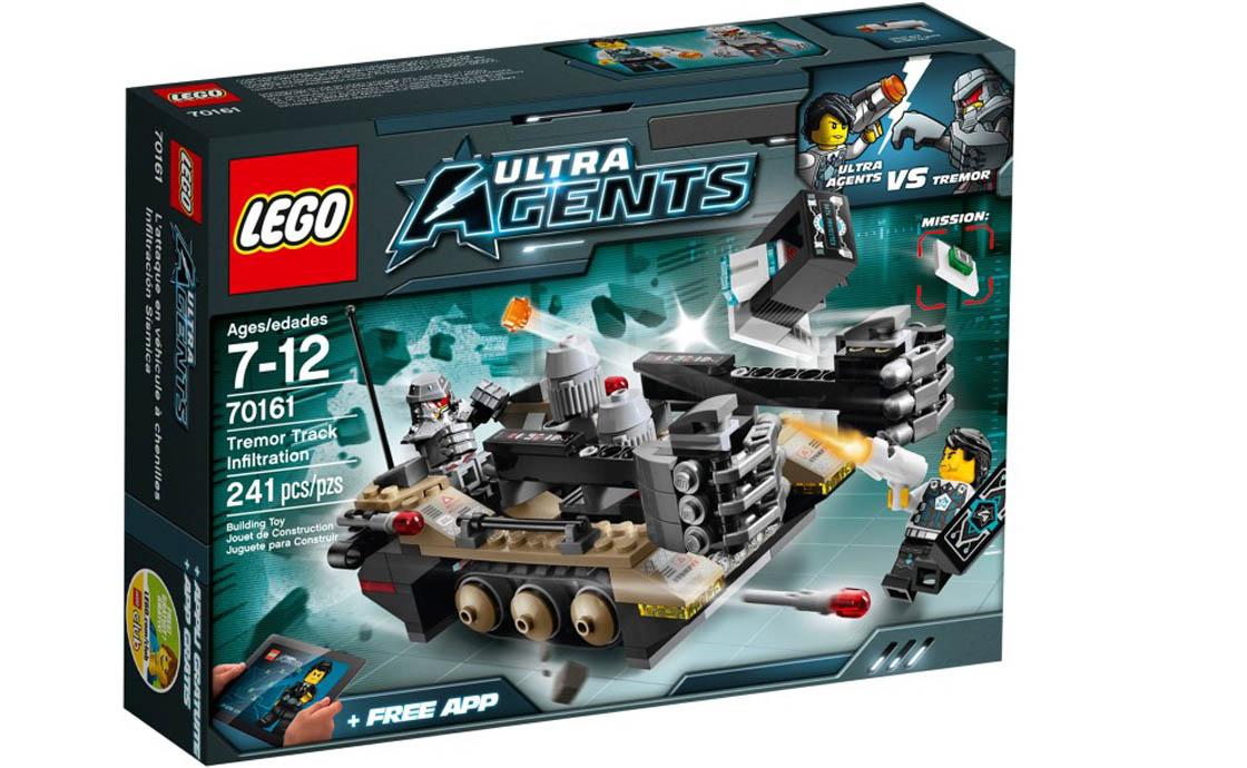 LEGO Ultra Agents Машина для уничтожения Тремора (70161)