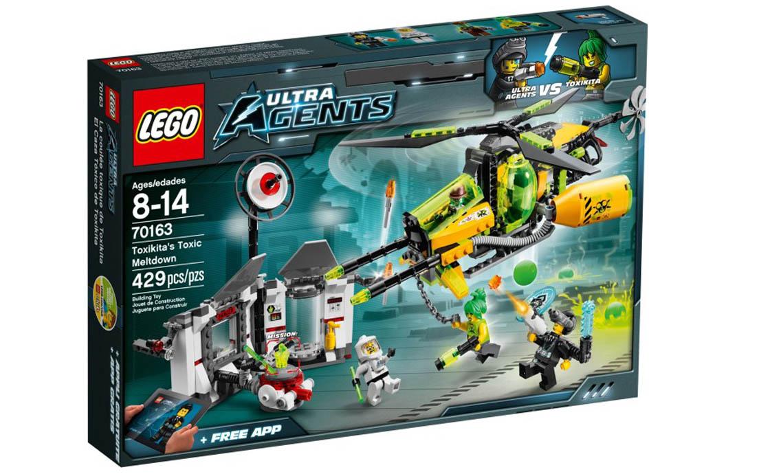 LEGO Ultra Agents Токсичная переплавка Токсикита (70163)