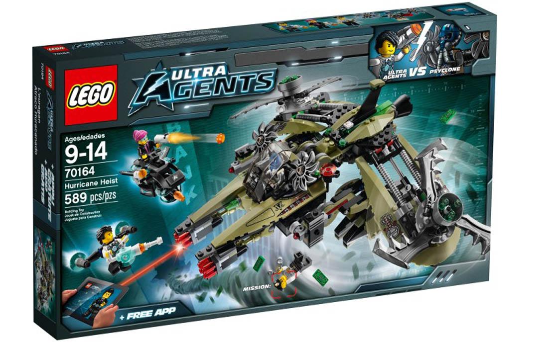 LEGO Ultra Agents Ураганная кража (70164)