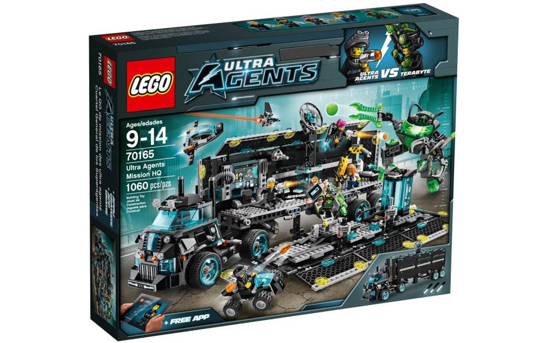 LEGO Ultra Agents Штаб-квартира ультра агентов (70165)