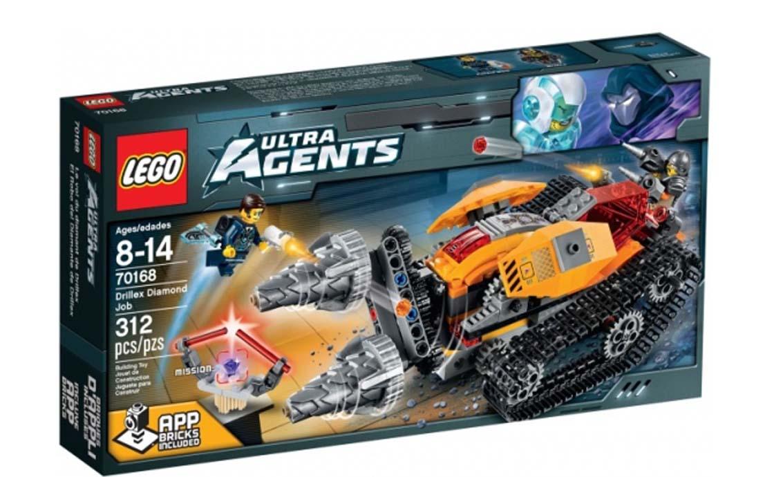 LEGO Ultra Agents Ювелирная работа Дриллекса (70168)