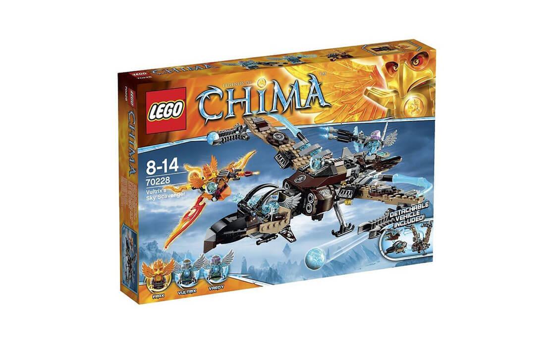 LEGO Legends Of Chima Небесный мусорщик Вультрикса (70228)