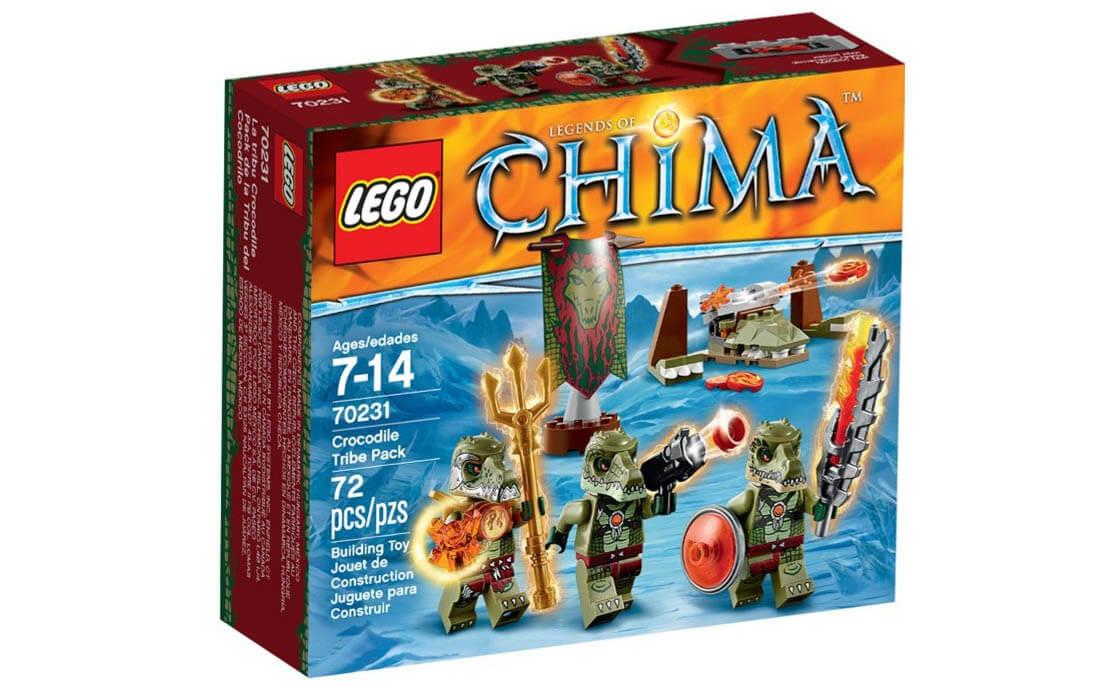 LEGO Legends Of Chima Пак племени крокодилов (70231)