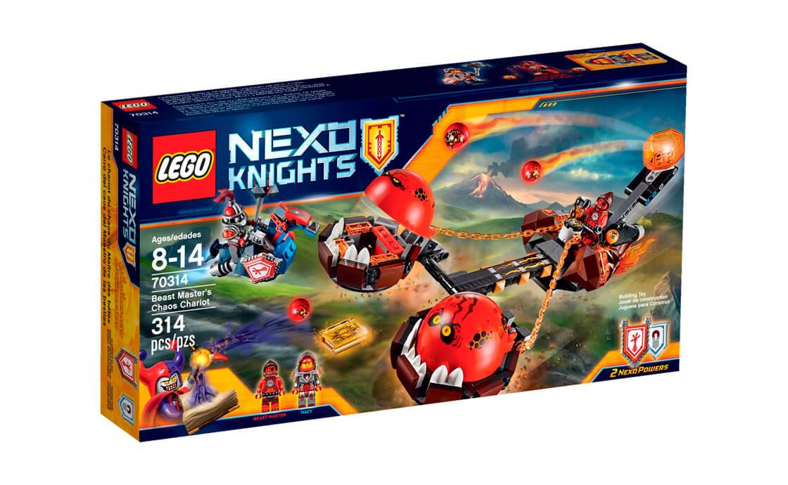 LEGO NEXO KNIGHTS Божевільна колісниця Приборкувача (70314)