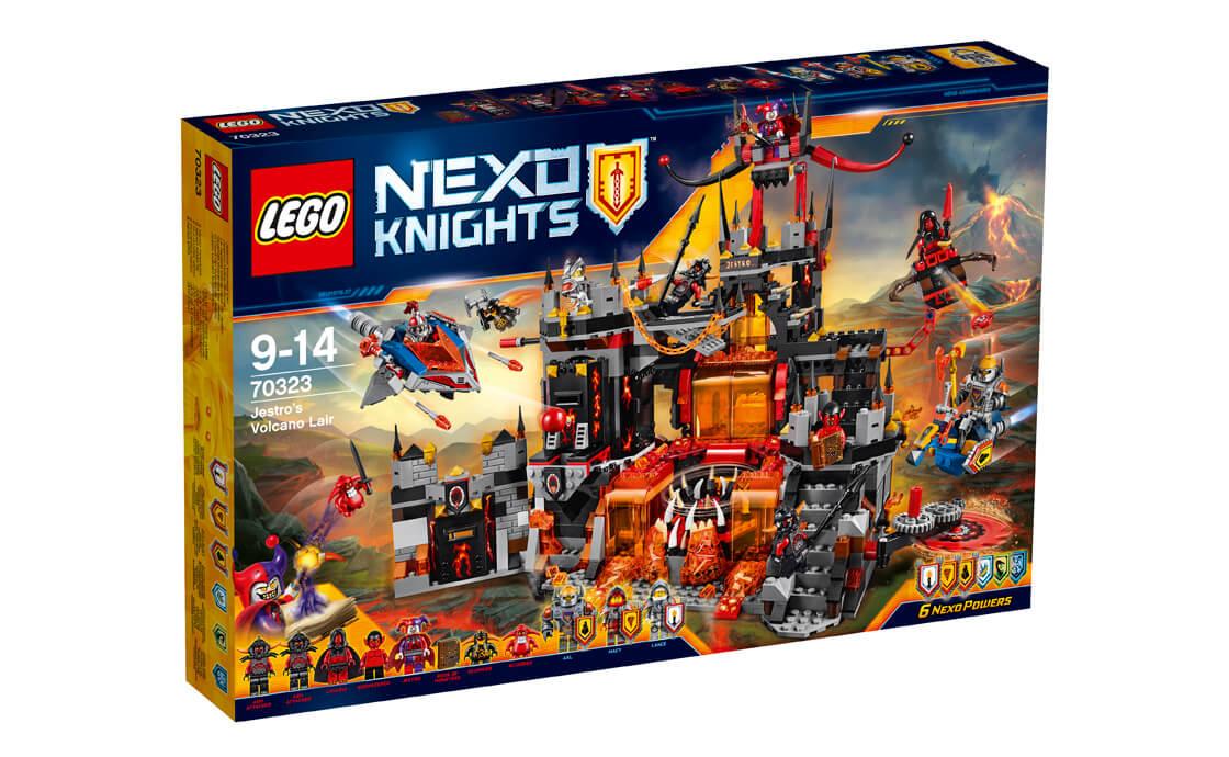 LEGO NEXO KNIGHTS Вулканічне лігво Джестро (70323)