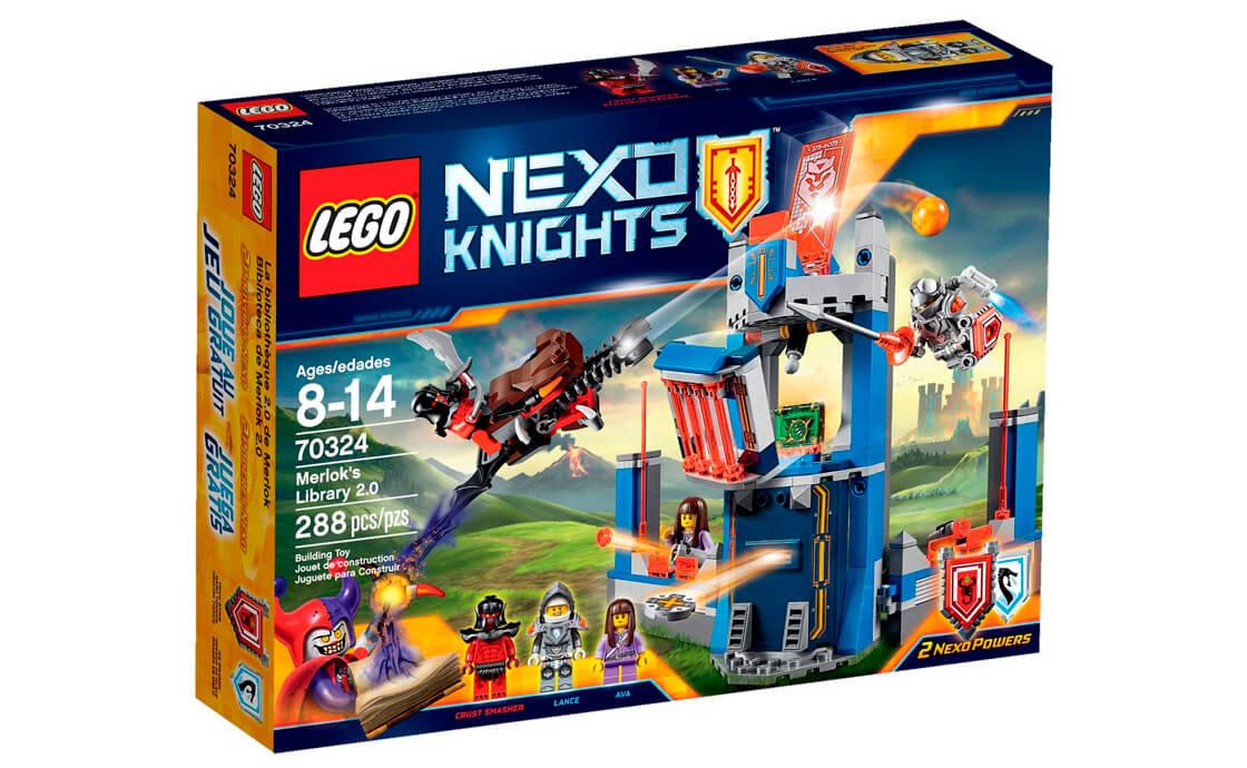 LEGO NEXO KNIGHTS Бібліотека Мерлока 2.0 (70324)