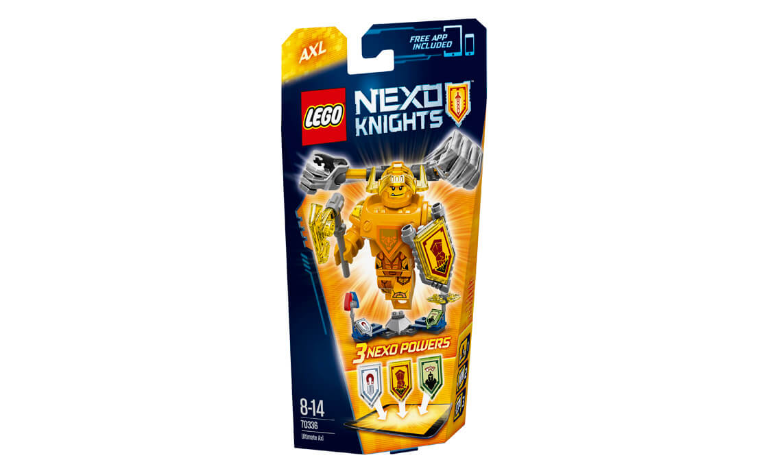 LEGO NEXO KNIGHTS Аксель Абсолютна сила (70336)