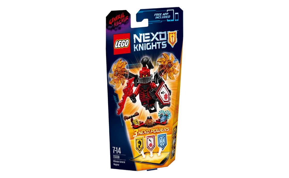 LEGO NEXO KNIGHTS Генерал магмари - Абсолютна сила (70338)