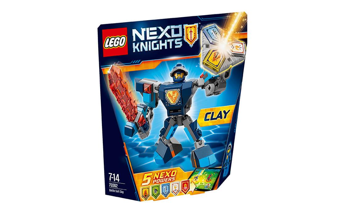 LEGO NEXO KNIGHTS Бойові обладунки Клея (70362)