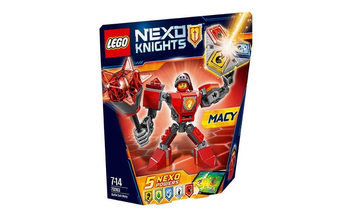 LEGO NEXO KNIGHTS Бойові обладунки Мейсі (70363)