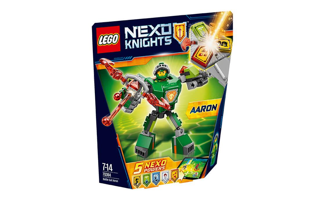 LEGO NEXO KNIGHTS Бойові обладунки Аарона (70364)