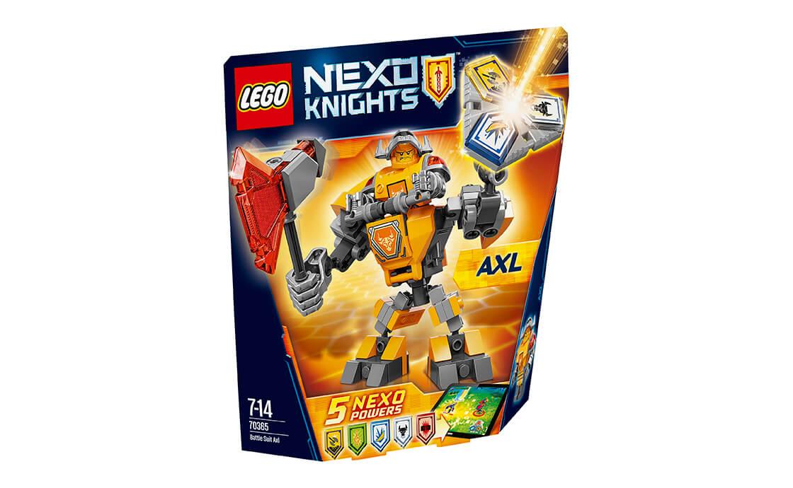 LEGO NEXO KNIGHTS Бойові обладунки Акселя (70365)