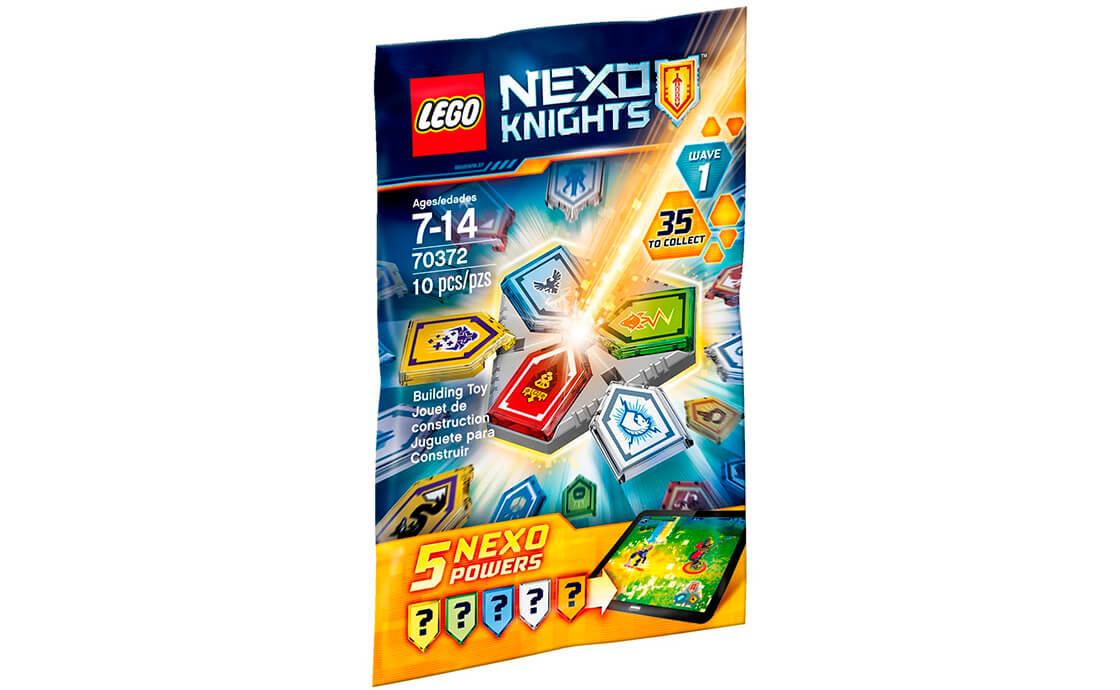 LEGO NEXO KNIGHTS Комбо НЕКСО сили (Хвиля 1) (70372)
