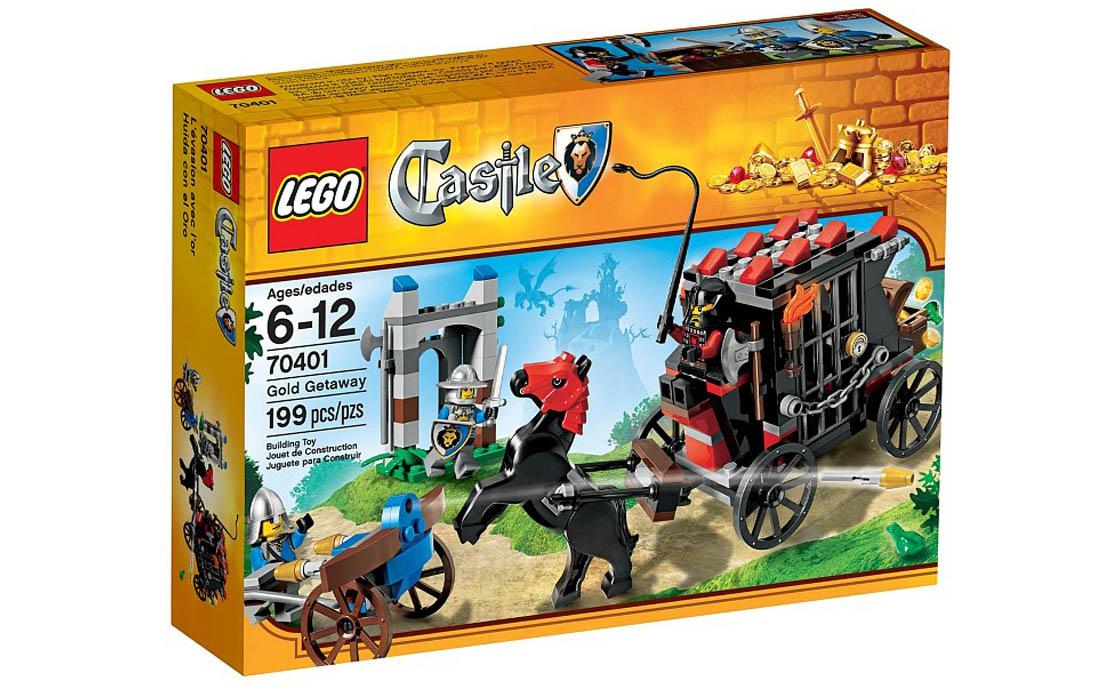 LEGO Castle Раритет Похищение золота (70401)