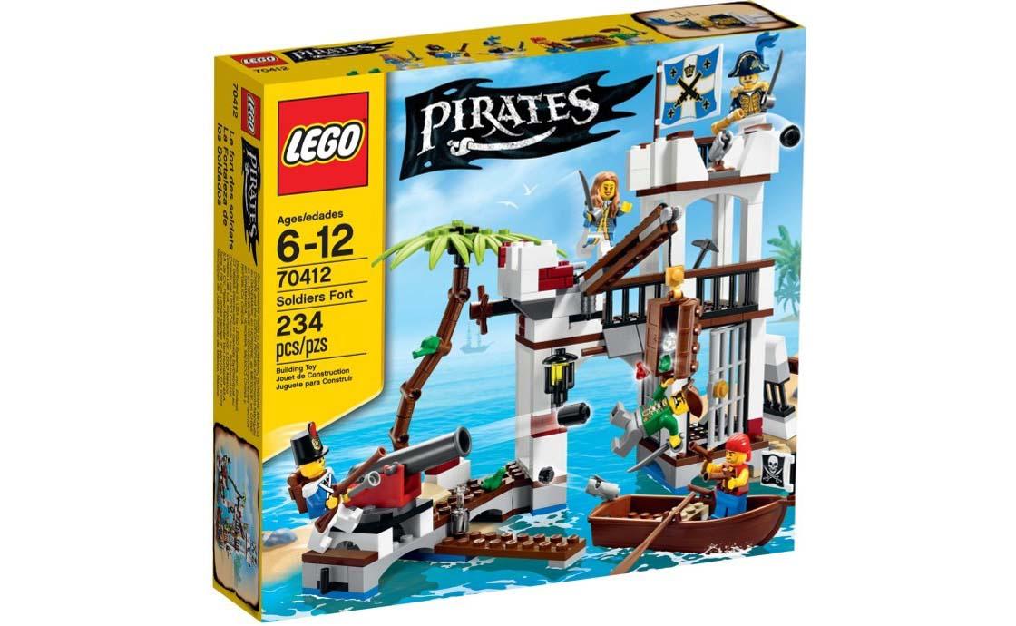 LEGO Pirates Форт солдат (70412)