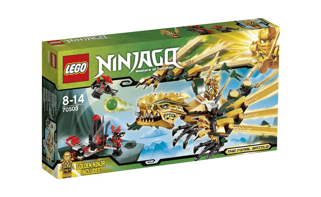 LEGO NINJAGO Золотой Дракон (70503)