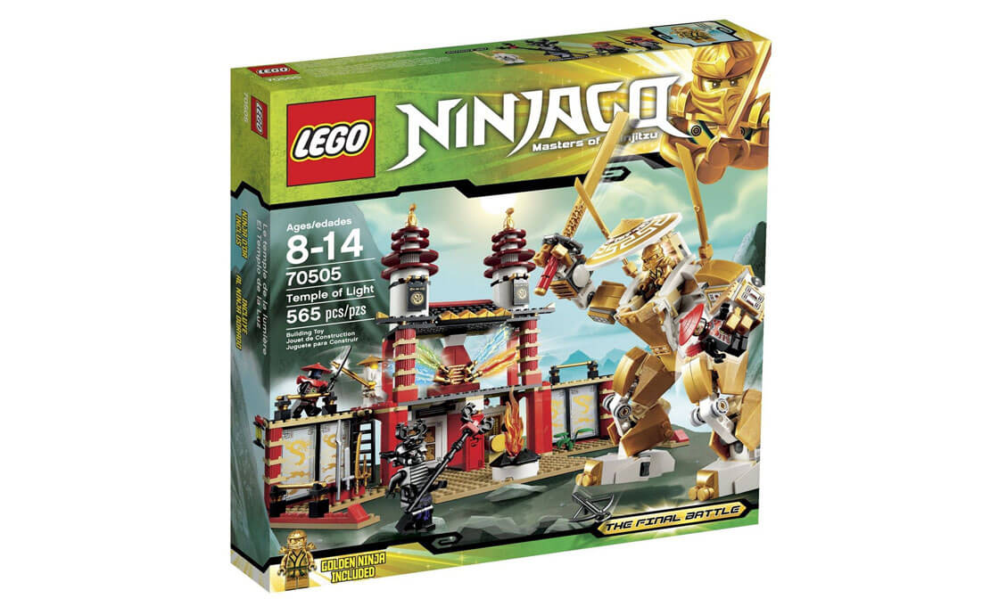 LEGO NINJAGO Храм Света (70505)