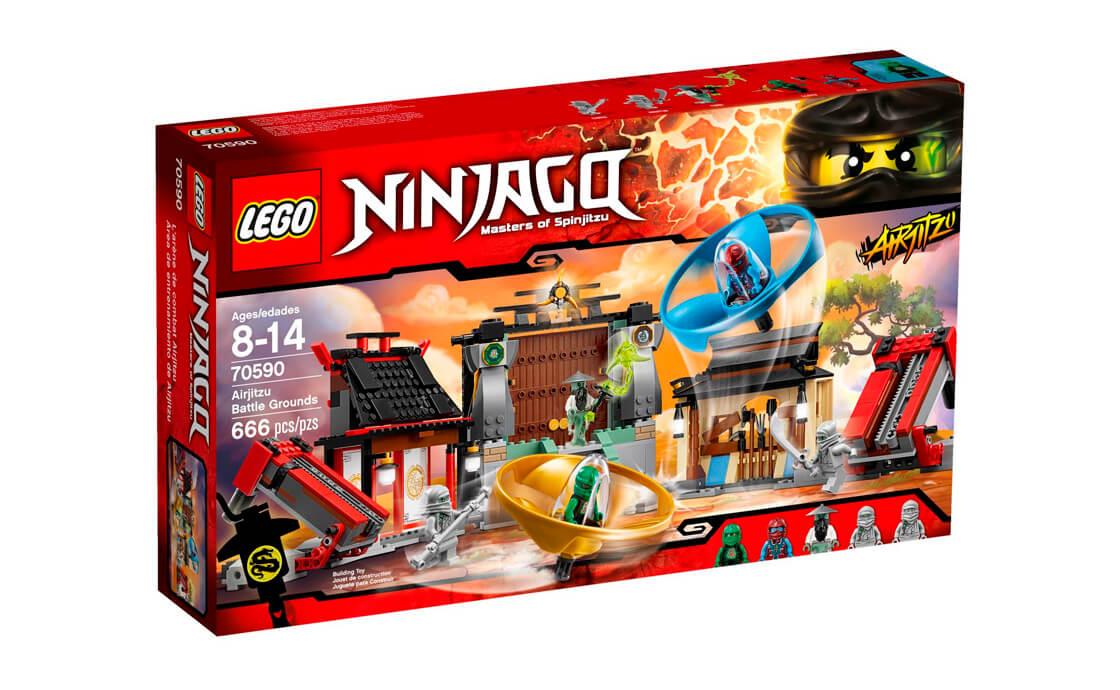 LEGO NINJAGO Бойовий майданчик для аероджітцу (70590)
