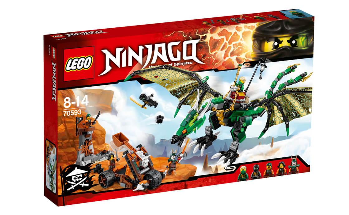 LEGO NINJAGO Зелений енерджі дракон Ллойда (70593)