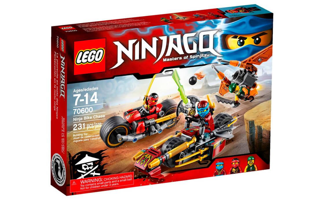 LEGO NINJAGO Погоня на мотоциклах (70600)