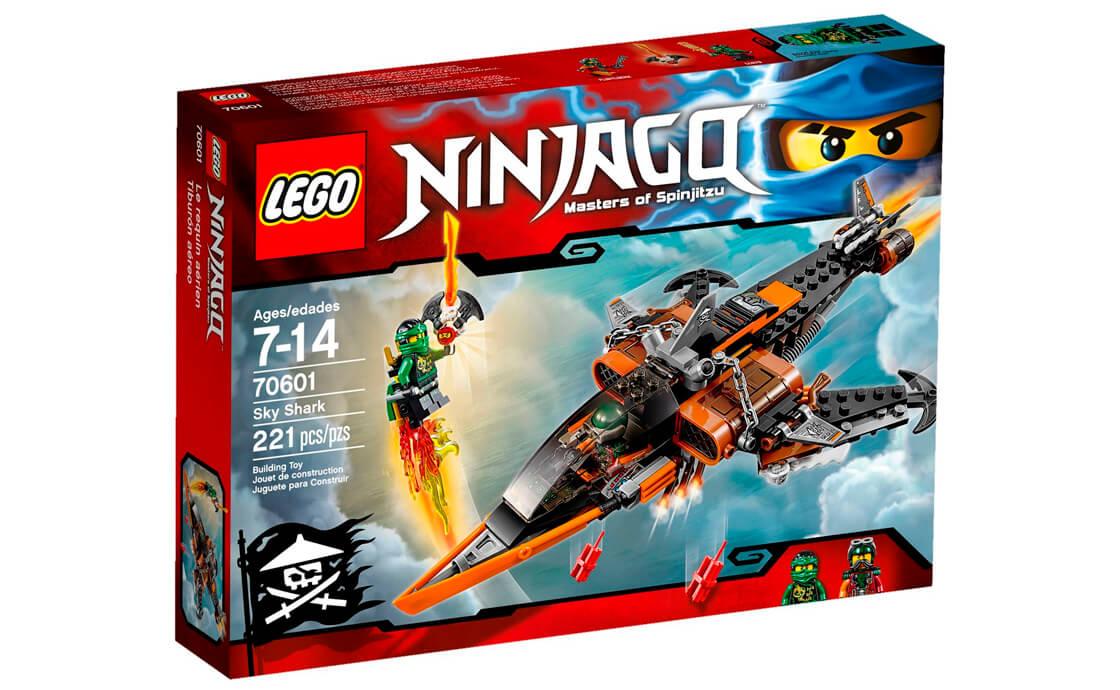 LEGO NINJAGO Небесна акула (70601)