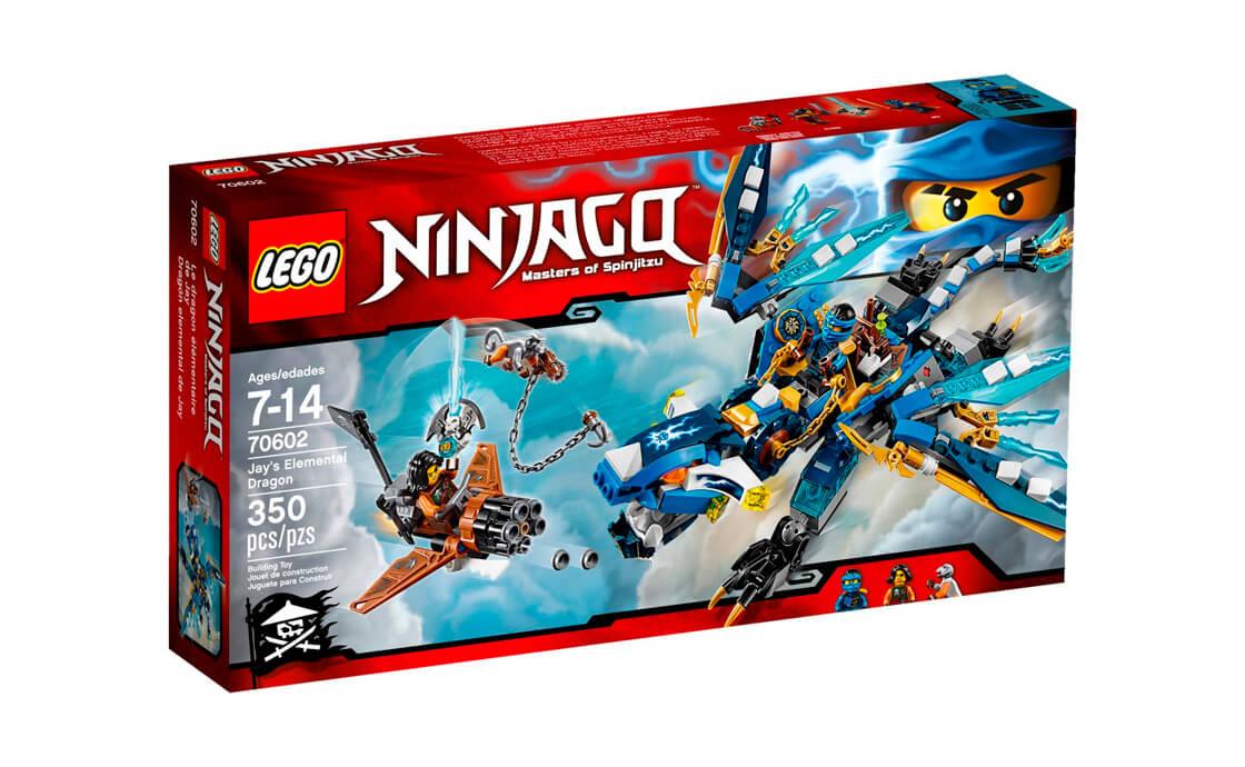 LEGO NINJAGO Дракон Джея (70602)