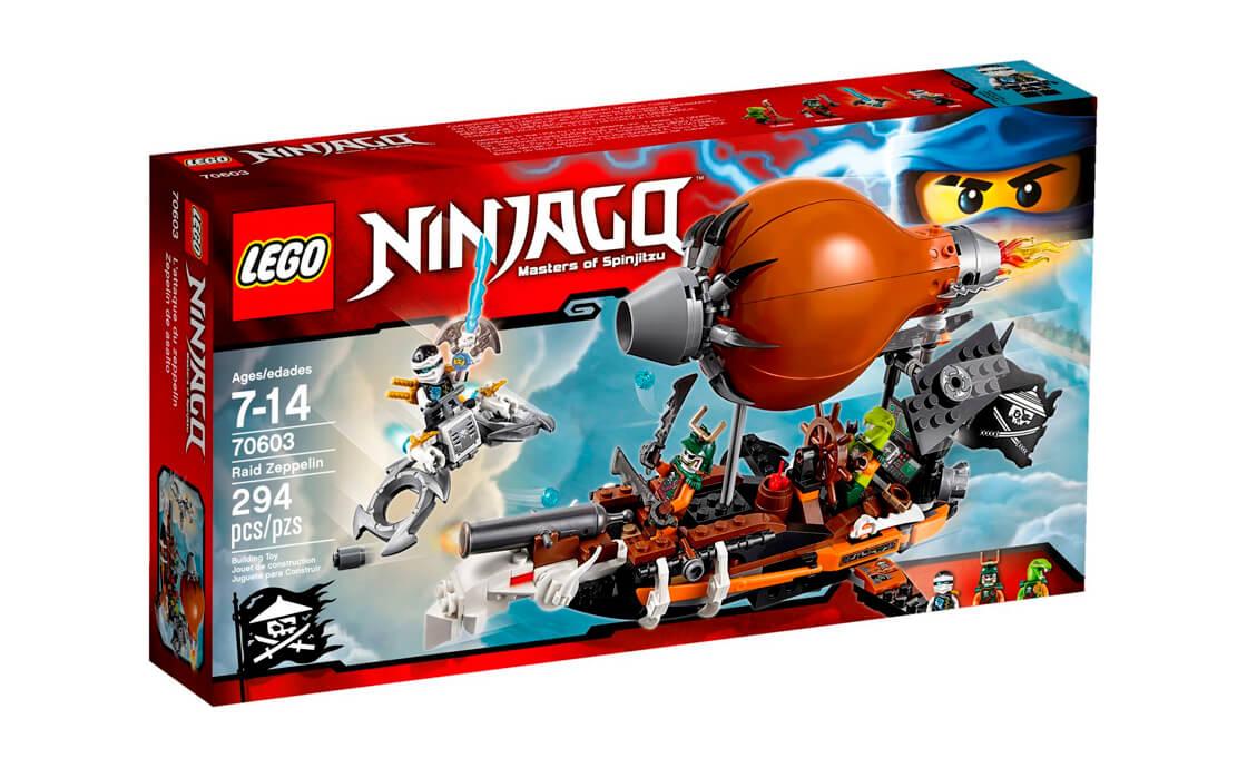LEGO NINJAGO Дирижабль-штурмовик (70603)