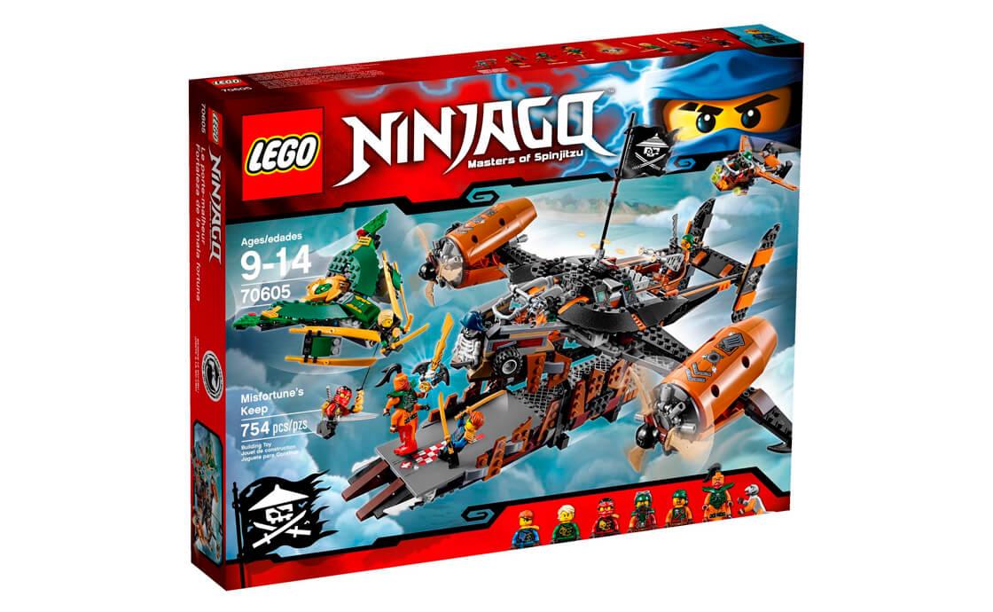 LEGO NINJAGO Цитадель нещасть (70605)