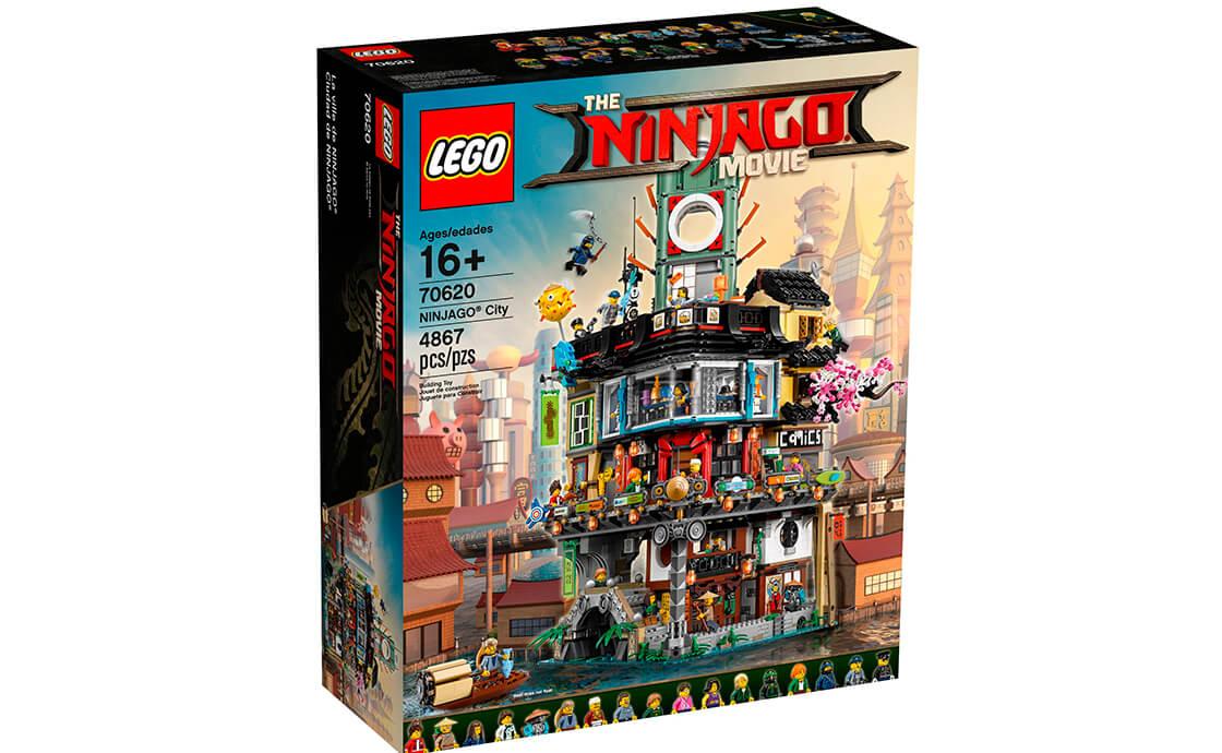 LEGO NINJAGO Ніндзяго Сіті (70620)