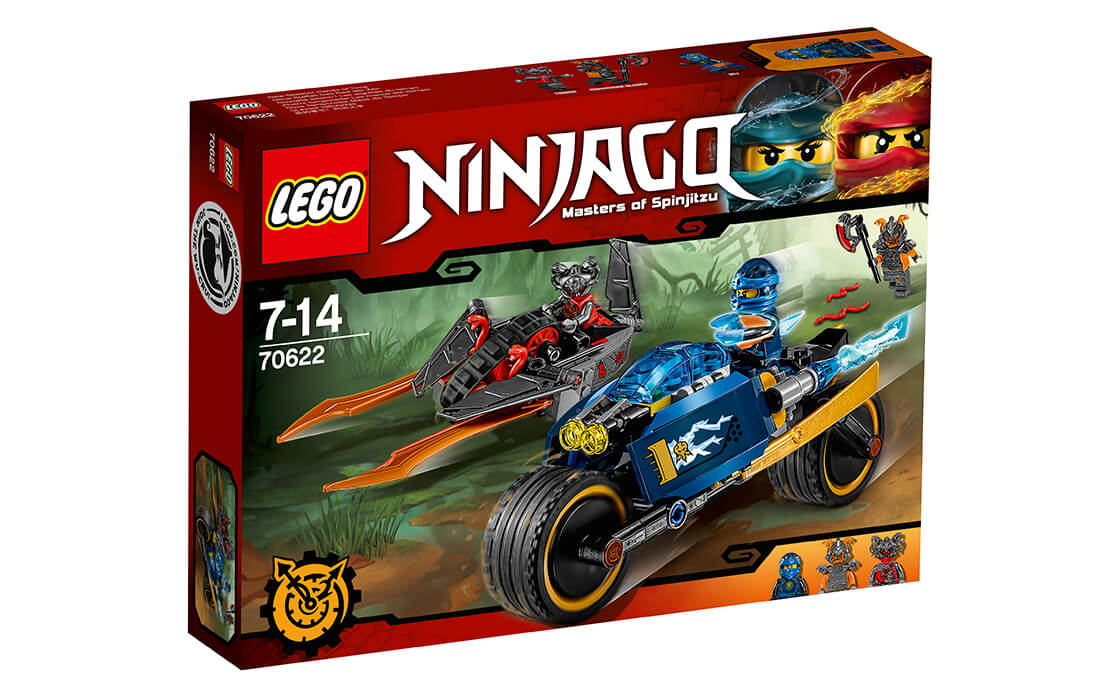 LEGO NINJAGO Пустельна блискавка (70622)