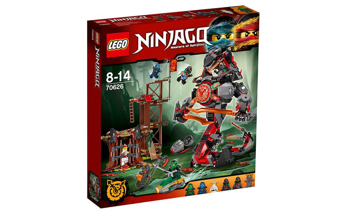 LEGO NINJAGO Залізні удари долі (70626)