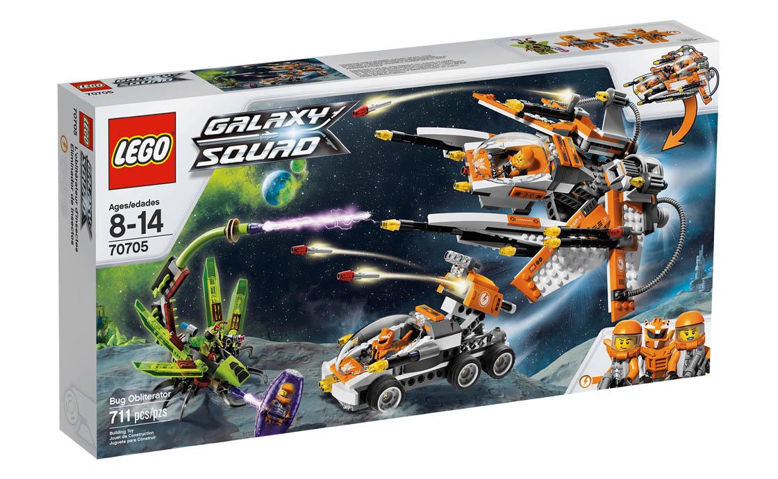 LEGO Galaxy Squad Охотник за инсектоидами (70705)