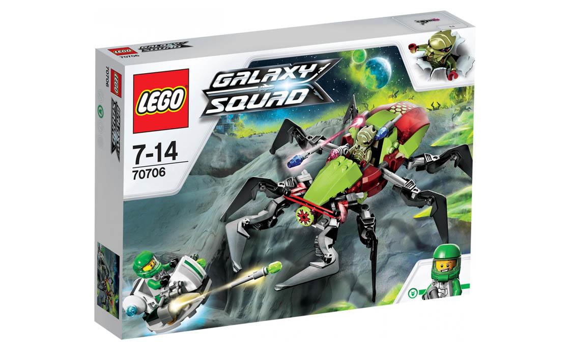 LEGO Galaxy Squad Кратерный инсектоид (70706)