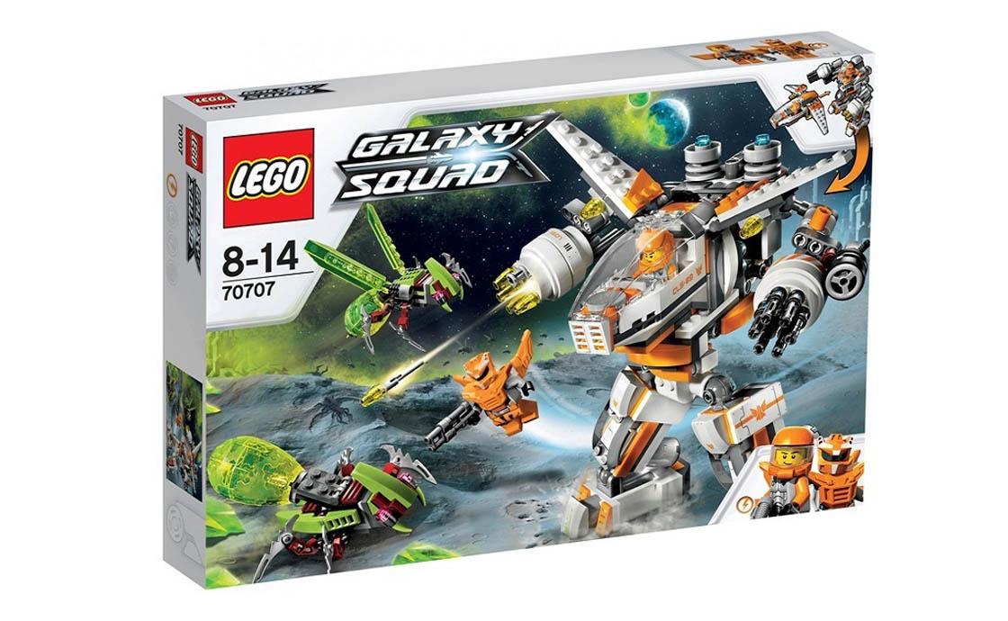 LEGO Galaxy Squad Механический истребитель CLS-89 (70707)