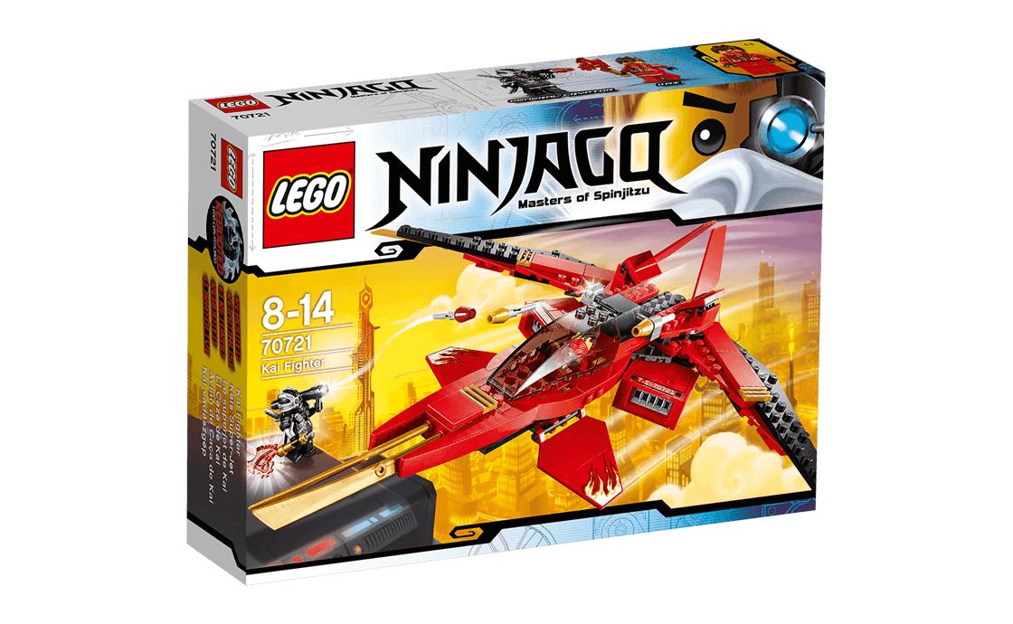 LEGO NINJAGO Истребитель Кая (70721)