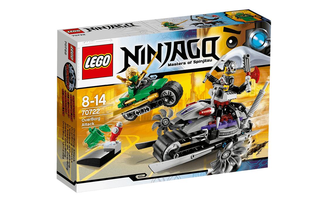 LEGO NINJAGO Атака Оверборга (70722)